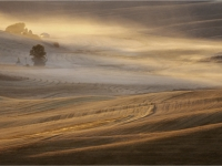 Dust at sundown by Mike Chambers