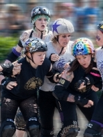 Roller Derby Tussle by Jack Taylor (Commended)