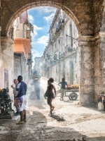 Archway Havana Cuba by Roy Morris LRPS (Commended)
