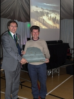 Alan & Barrie Duffield OPS collecting the Lakeland Landscape Trophy on behalf of Tracey Elvidge