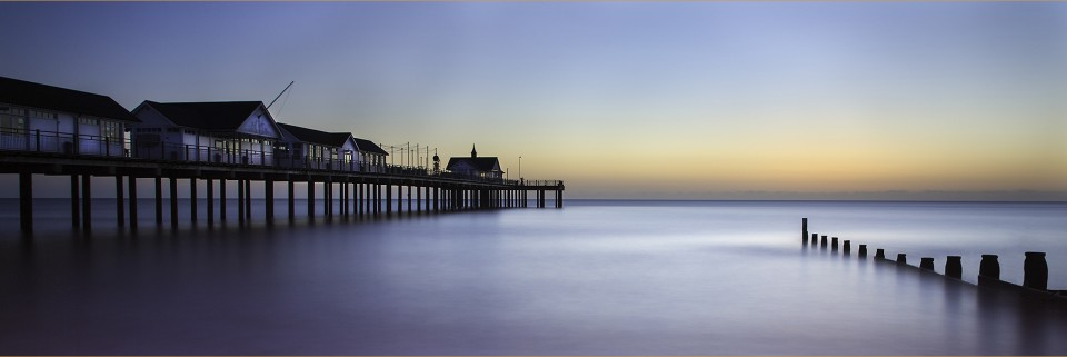 Dawn Pier by Pat Coulder (KCPA Exhibition 2019)