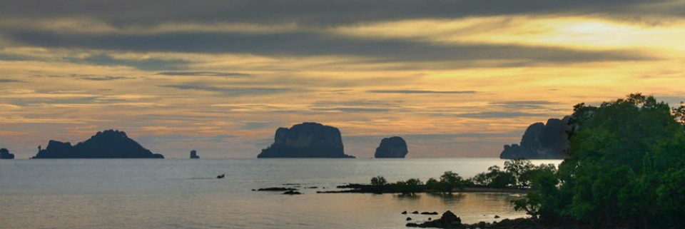 Phuket Sunset by Richard Waterman Entry in PDI Colour 2015 Exhibition