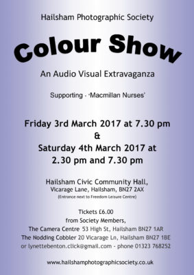 Hailsham P.S Colour Show @ Hailsham Civic Community Hall | England | United Kingdom