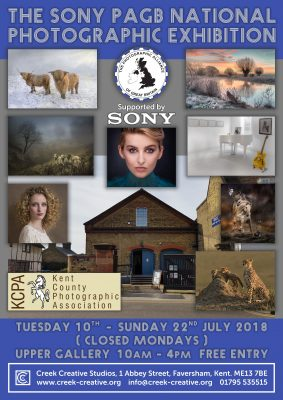 Sony PAGB National Photographic Exhibition @ Creek Creative Studios | England | United Kingdom