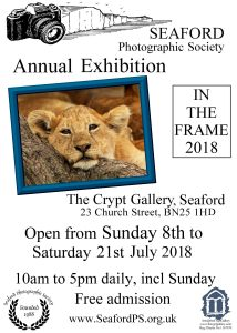 Seaford Photographic Society Exhibition @ The Crypt Gallery, Seaford | England | United Kingdom