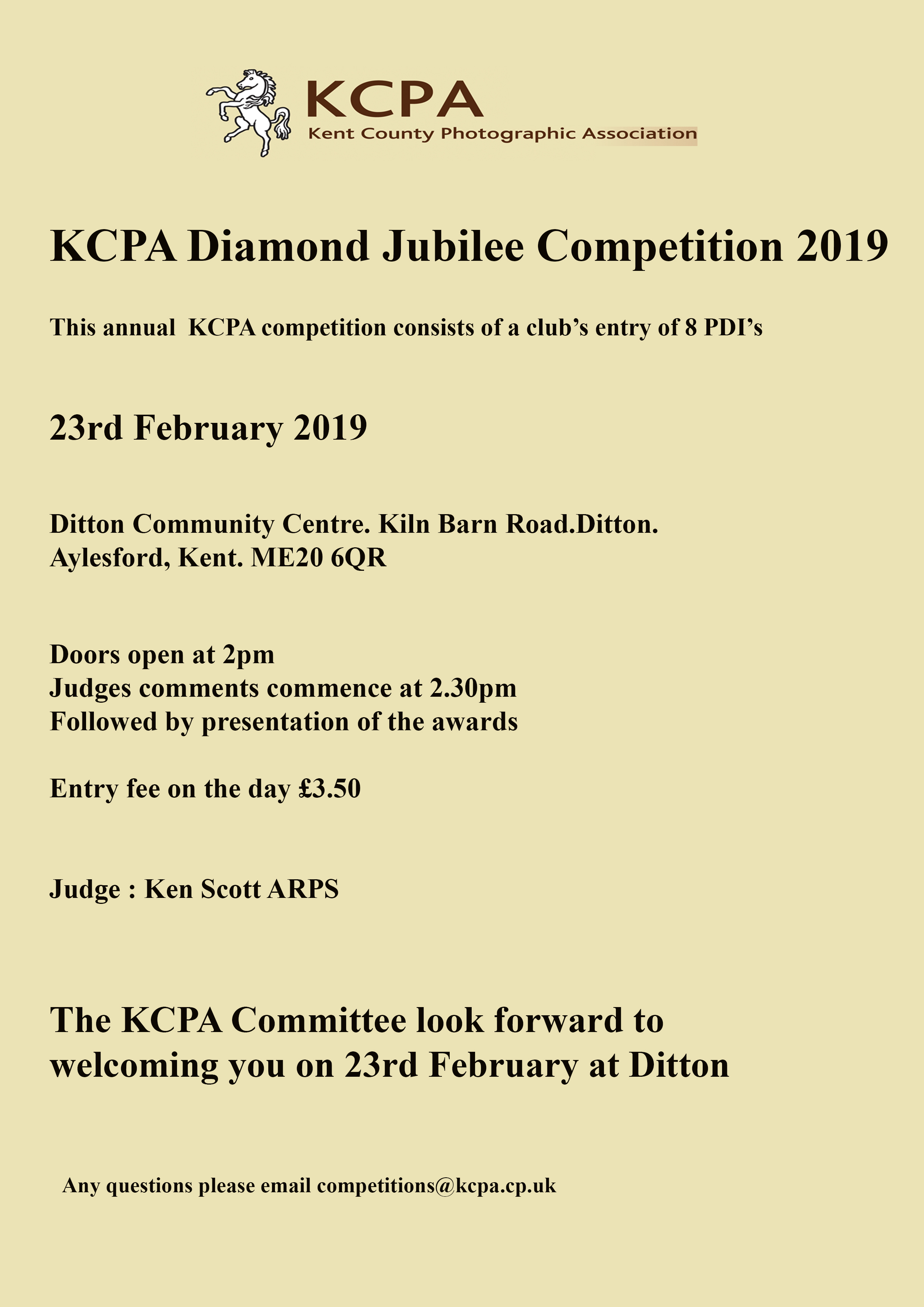 Diamond Jubilee 2019 @ Ditton Community Centre | Ditton | England | United Kingdom